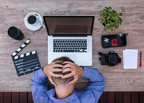 Entrepreneur stressé